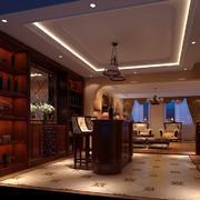 酒柜设计灯光设计