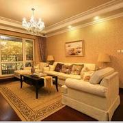 精致唯美的现代客厅
