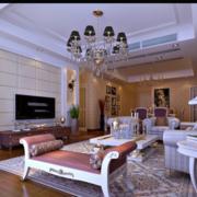 白色简约欧式客厅