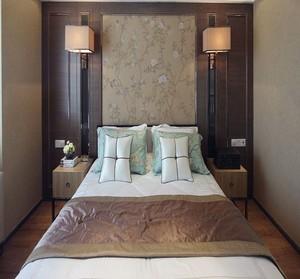 中式100平米卧室装修图大全