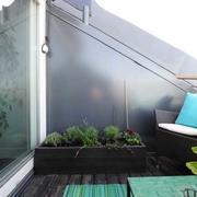 简约清新露台空间设计