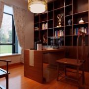 书房设计图新中式款