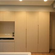 简约原木色衣柜设计