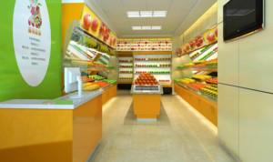 超市进口水果店装修设计效果图