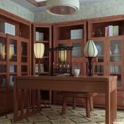 书房设计图小户温馨款