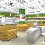 水果店现代户型