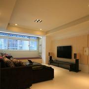欧式淡雅简约风格客厅设计