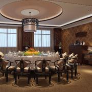 中式大户型客厅设计