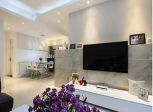 时尚的电视背景墙装修效果图