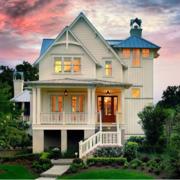 暖色调别墅设计