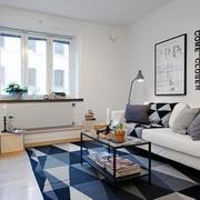公寓混搭型客厅沙发设计