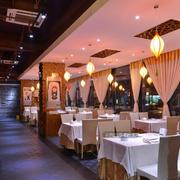 中式豪华型餐厅卡座