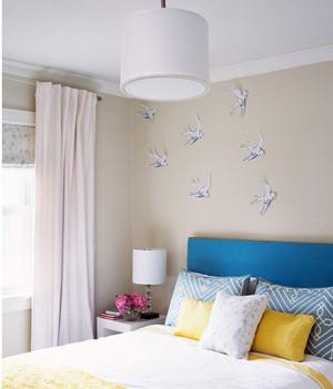 现代卧室风格装修效果图