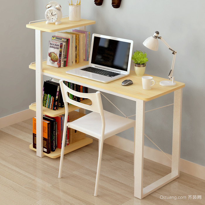 20平米儿童房电脑桌效果图