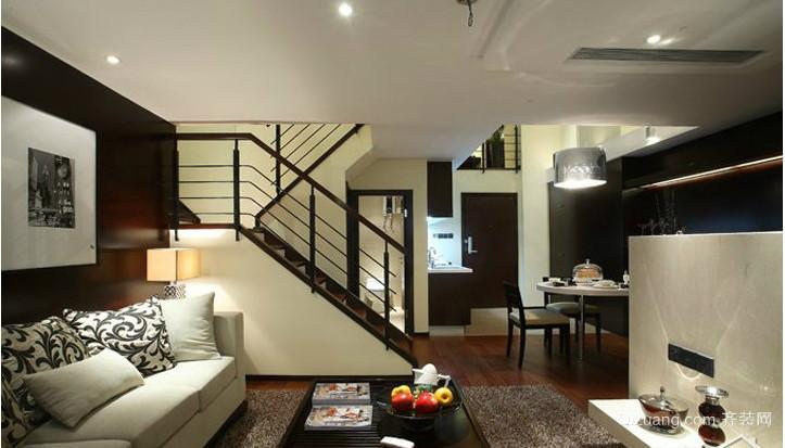 欧式单身公寓装修效果图
