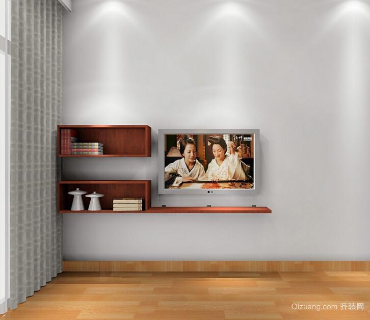 挂墙电视柜效果图