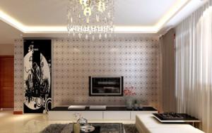 100平米三室一厅房屋装修效果图