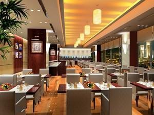 都市中型餐馆装修效果图