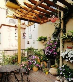 小型入户花园设计效果图