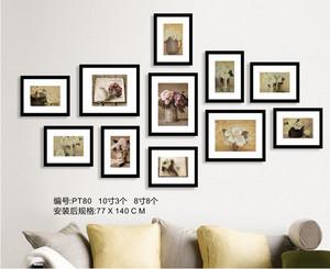 欧式照片墙设计效果图