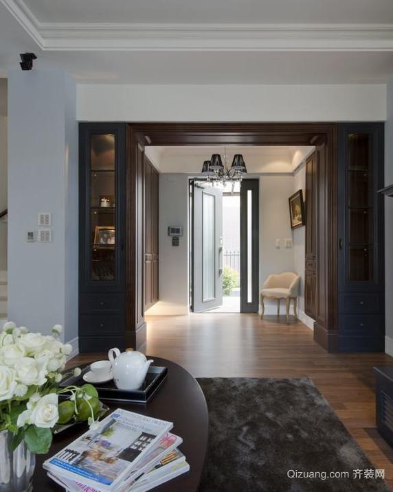 80平大户型简约客厅装修效果图欣赏