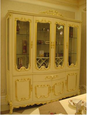 法式酒柜效果图欣赏