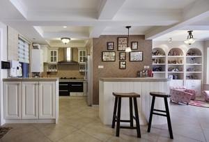 美式厨房装修效果图