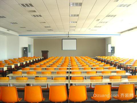 培训班室内装修设计效果图