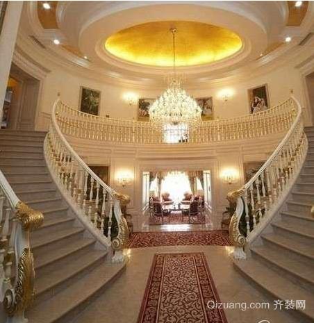 欧式楼梯设计效果图
