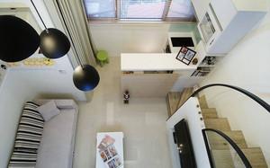 现代简约风格单身公寓装修风格效果图
