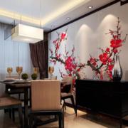中式餐厅暖色款