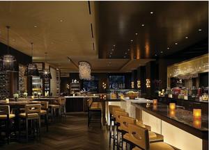 欧式风格酒吧吧台装修效果图
