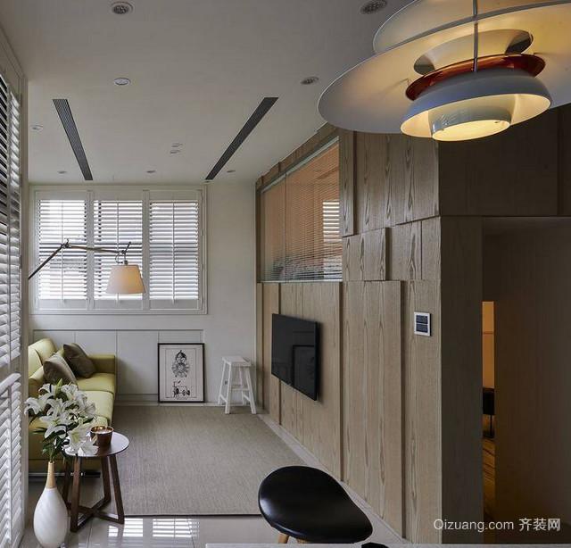 时尚现代混搭客厅室内设计装修效果图