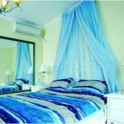 大户型地中海公寓卧室