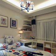 地中海吊顶小客厅