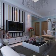 客厅电视墙小户型