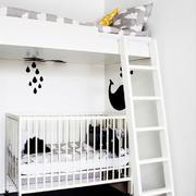 儿童卧室高低床