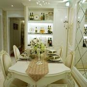 欧式酒柜白色款