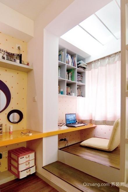 小户型单身公寓飘窗设计效果图
