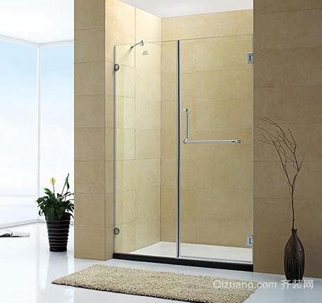 浴室玻璃推拉门图片