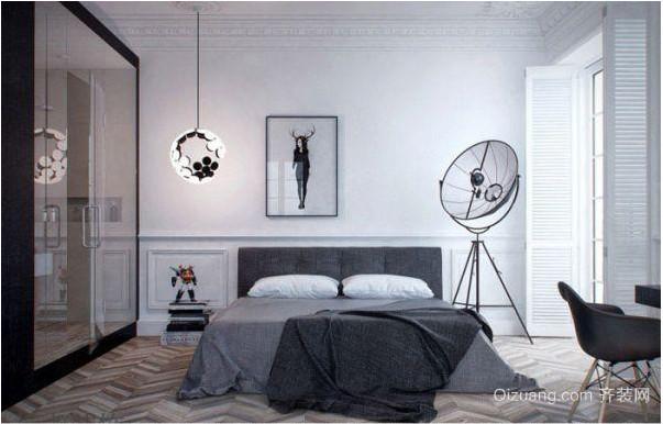 现代简约单身公寓装修效果图