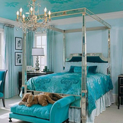 小户型地中海公寓卧室淡色款