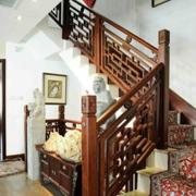 复古别墅楼梯奢华款