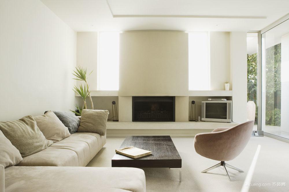 三室二厅大户型客厅室内装修设计效果图