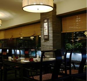 现代简约大型餐厅装修效果图