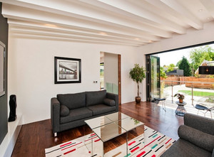 农村二层小别墅客厅吊顶装修设计效果图