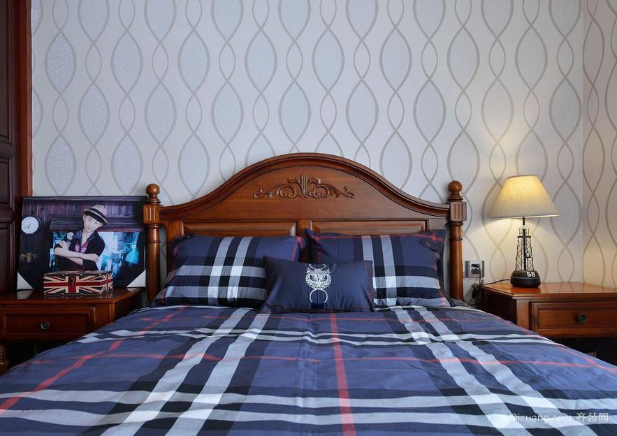 美式风格跃层卧室装修效果图