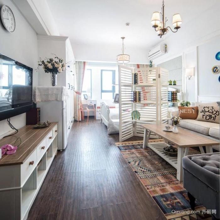 超有创意的单身公寓装修效果图