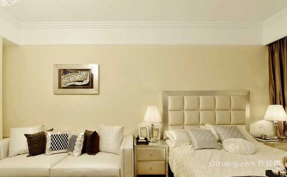 现代风格单身公寓装修效果图
