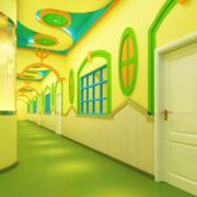 清新幼儿园亮色款